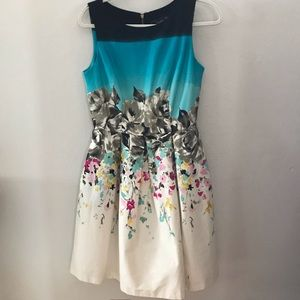 Just Taylor Fit and Flare Dress size 6